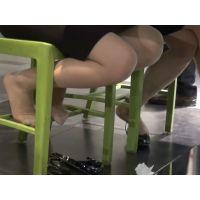 足の裏,靴脱ぎ,脚フェチ,足フェチ,パンスト,ヒール,OL,つま先,パンプス, Download