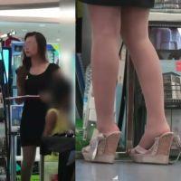 ☆動画☆不動産販売店の靴脱ぎ店員