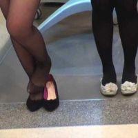 ☆動画☆パンストやタイツの靴脱ぎ7シーン