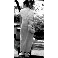 【赤外線】ワンピから水玉パンツが透け透けの若奥様
