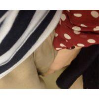 GOGO!おしつけ君DB ~ep.01~ スカートのしわをめっちゃ直す女
