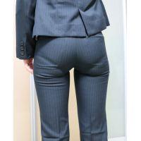 【後輩シリーズ】 むっちりパンツスーツのお尻9