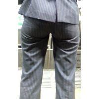 【超お得!250枚】 ムチムチパンツスーツのお尻2