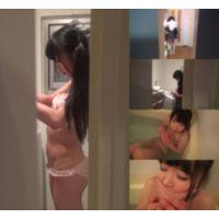 ※服役中の知人がくれたレ●プ動画※J,Kの自宅で待ちぶせ>>浴室に侵入して犯す!