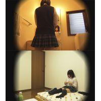 ☆C3(○4歳)ひかり シェアハウスの入居者� 着替えを盗撮 受験生の体を隠し撮り