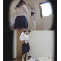 ☆K3(○7歳)マリカ シェアハウスの入居者�-1 着替えを盗撮 受験生の体を隠し撮り