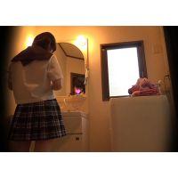 ☆C2(○4歳) シェアハウスの入居者22-1 脱衣所 着替え盗撮