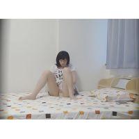 ☆K3(○7歳)マリカ シェアハウスの入居者�-2 オナニー盗撮 悶えながらの開脚マンズリ