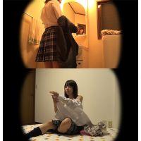 ☆K1(○6歳)ルリカ シェアハウスの入居者�-1 着替えを盗撮 モデル並みの美体を隠し撮り