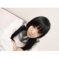 【LI○E掲示板で女子○生げっと☆】まるでお人形のような黒髪ロング少女なつみちゃんとハメ撮りSEX