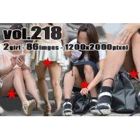 vol218-どきっ!魅力的なシーン!Pチラスカートお嬢さん