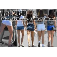 vol268-むちむち美尻に食い込むぴちぴちショートパンツ