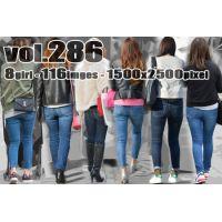 vol286-激しく食い込むピチピチタイトなデニムパンツ