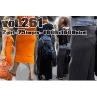 vol261-タイトマキシワンピのPラインとヒップライン