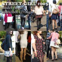 街中の女性005(美脚美人編)