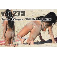 vol275-砂浜で色気と食い込みを魅せつけるGストリングビキニのぽっちゃりマーメイド
