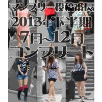 【コンプリート】マンスリー投稿番長2013年度下半期7月〜12月コンプリートセット