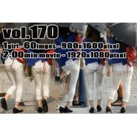 vol170-ムチピタ食い込みホワイトパンツ