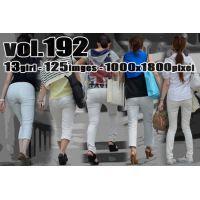 vol192-ピッタリ食い込みホワイトパンツ