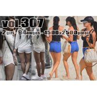 vol307-ぴったりタイトな食い込みショートパンツ