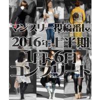 【コンプリート】マンスリー投稿番長2016年度上半期1月〜6月コンプリートセット
