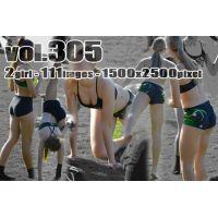 vol305-スパッツ食い込む新体操ブロンド娘