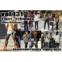 vol131-デニム短パンタイツ履き