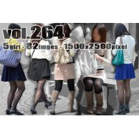 vol264-魅力的な質感が溢れ出すむち脚黒タイツ
