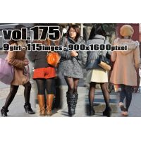 vol175-オシャレ黒系柄タイツ