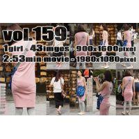 vol159-ピチ尻パンティラインスレンダー娘