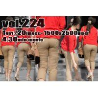vol224-極むち尻ピチピチベーパン食い込みくっきりPライン(画像+動画)