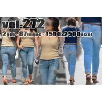 vol272-豊満プリプリデカ尻食い込みピチピチタイトデニム