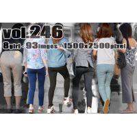 vol246-豊満美尻のピタピタ食い込みPライン