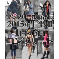 【コンプリート】マンスリー投稿番長2015年度上半期1月〜6月コンプリートセット