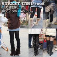 街中の女性008(美脚編)