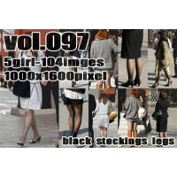 vol97-薄黒ストの透け美脚