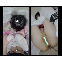 [託っ子7] 中出しイキ精液 痙攣 デンマでクリ同時責め 初めてなのに強制的にイかされる子 膣内射精