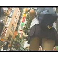 JK追っかけパンチラ【高画質】-56