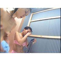 【海の家シャワー】隠し撮り流出映像 22
