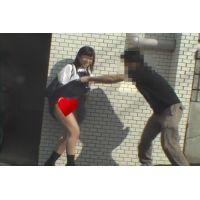 「鬼畜映像」 めくって逃げろ! 女子高生スカートめくり パンチラダッシュ!  Vol6