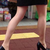 【フルHD】TOWN SNAPの街撮り【脚】027