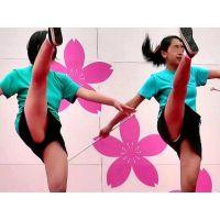 桜フェスティバル#7 ぬれるバトントワリング