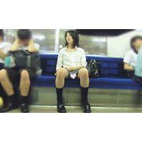 拘束列車は覗き放題 その10「狙われた制服JK〜顔、体系、おパンツ三拍子揃った文句なしの美少女を正面からじっくりと...」