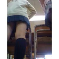 【盗撮風】教室での景色