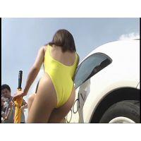'01黄色いハイレグ&ドラックレースクィーン動画�