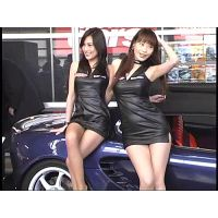 【2004 Tokyo Auto Salon part1】Race Queen video �