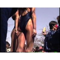 【Ass part3 of paddock back booth gir】Race Queen video �