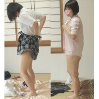 [Flow ○] change of clothes Hidden Camera 54 ★ hair short rustic