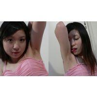 わきなめINDEX ピンクのドレスのカワイイ腋舐め!編【電子写真集】