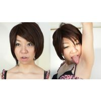 わきなめINDEX 舐めが得意なショートカット杏奈さんのワキ舐め!編【電子写真集】